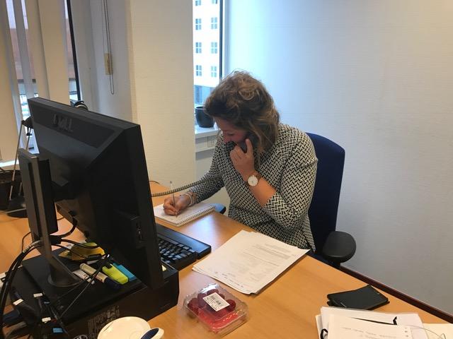 Tanne Goedman, Medewerker Taskforce Veilig Thuis Zaanstreek-Waterland