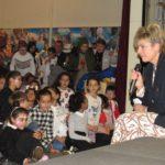 Overweldigend bezoek prinses Laurentien aan Poelenburg en Peldersveld over belang van taal
