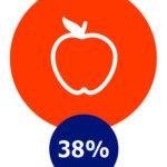 Gezondheid, 38%