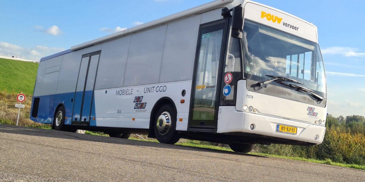 Mobiele prikbus tourt door de regio – hier staat de bus