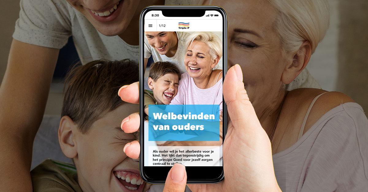 Online magazine 'Zorg goed voor jezelf' voor ouders